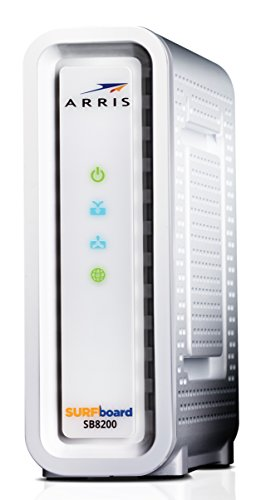Next-Generation ARRIS SURFboard SB8200 DOCSIS 3.1 Cable Modem - Retail Packaging- White by ARRIS