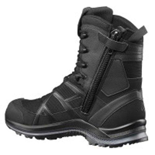 Haix Black Eagle Athletic 2.0 T High, Side-Zip Boots, Black, 10, 330004M-10
