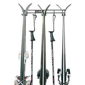 Racor Pro PS-3R Three Pair Ski and Pole Rack