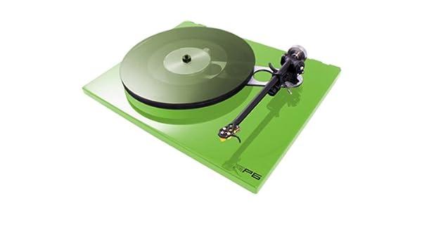Rega RP6 - Tocadiscos (Turntable verde green: Amazon.es ...
