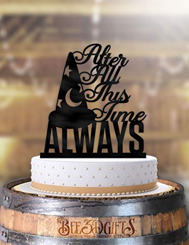 After All This Time Always Wizard Wedding Cake Topper