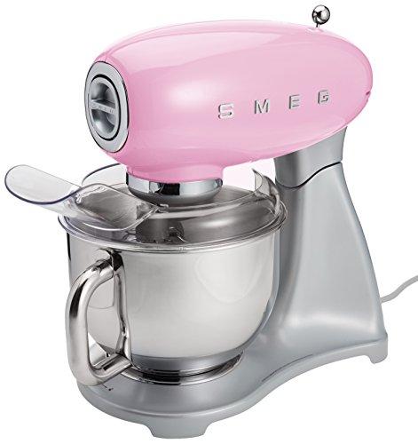 Smeg SMF01PKUS Stand Mixer Pink (Large Image)