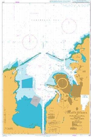 Ba gráfico 3111: Atlántico entrada a canal de Panamá que ...