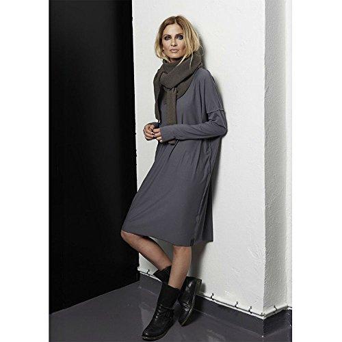 Henriette Steffensen Oversize Kleid 6054 grau AHymBDBw