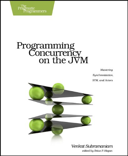 Programming Concurrency on the JVM: Mastering Synchronization, STM, and Actors by Venkat Subramaniam, Publisher : Pragmatic Bookshelf