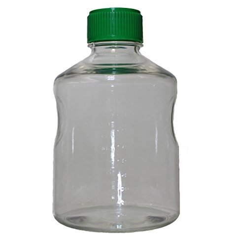 1000 mL Vacuum Filter Reservoir Bottle, Polystyrene, Sterile, Individually Packaged