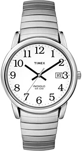 Timex Men s Easy Reader Date Expansion Band Watch