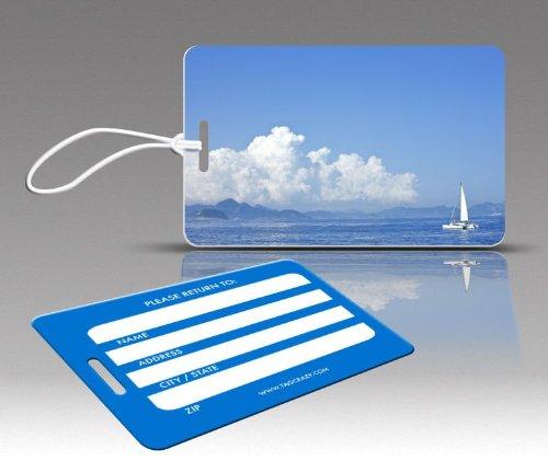 Insight Design 770630 TagCrazy Luggage Tags- Catamaran Sailing- Set of Three