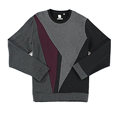 Calvin Klein Mens Large Colorblock Crewneck Sweater