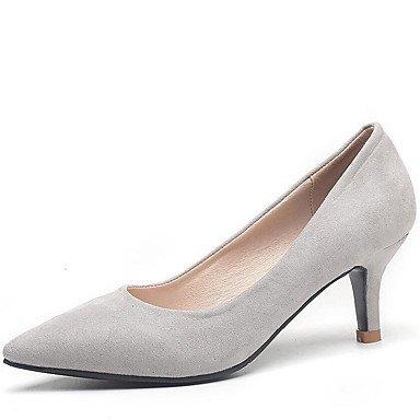 Zormey Tacones Mujer Primavera Verano Otoño Zapatos Club Comfort Fleece Oficina &Amp; Carrera Parte &Amp; Traje De Noche Stiletto Talón Caminando US4-4.5 / EU34 / UK2-2.5 / CN33