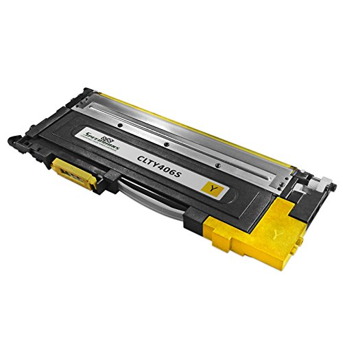 Speedy Inks - Compatible for Samsung Y406S CLT-Y406S CLTY406S Yellow Laser Toner Cartridge For use in CLX-3305FW CLX-3305W, XPRESS C410W,...  samsung y406s | Refill Samsung CLP-320 CLP-360 CLT406 Toner Cartridge 419hyKT94FL