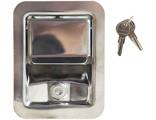 Buyers Products L3885RLS Rotary Paddle Latch (Latch,Handle,Paddle Rotary,)