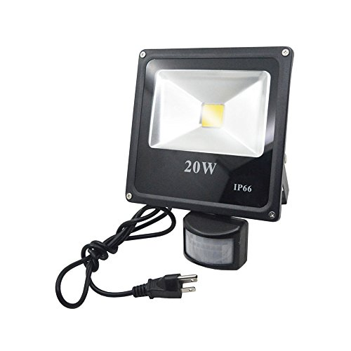 Afsemos motion sensor led light 20w high power flood lights afsemos motion sensor led light 20w high power flood lights waterproof pir sensor security light aloadofball
