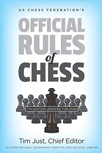 Us Chess Federation's Official Rules Of Chess - Tim Just