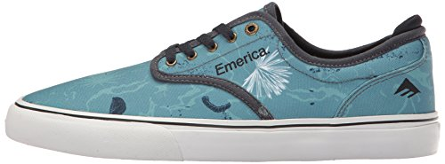 Emerica Wino G6, Color: Blue/White/Navy, Size: 41 Eu / 8 Us / 7 Uk