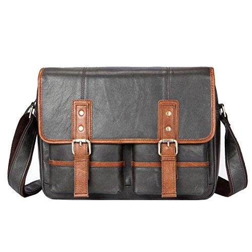 6493ddcdc0f2e GTUKO Echtes Leder Herren Taschen Crossbody Taschen Vintage Männlichen  Umhängetasche Männer Leder Umhängetasche Für Männer Messenger