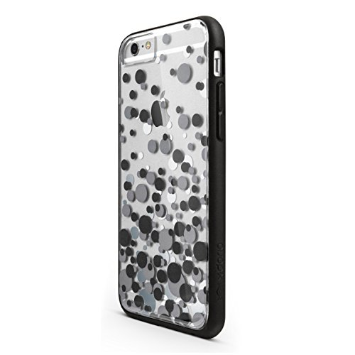 iPhone 6s/6 X-Doria Scene TPU & Polycarbonate Snap-On Protective Designer Shell, Black - Shield Shock Agent 18