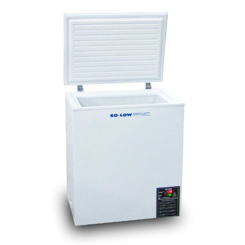 So-Low CH45-5 Lab Chest Freezer, 115V, 5 Cu. Ft., Temperature Range 0°C to -45°C
