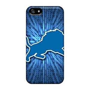 New Arrival Case Cover With RQn1339HmSS Design For Iphone 5/5s- Detroit Lions