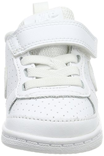 Unisex Nike white Borough Scarpe Court 100 Da Bianco tdv white – Low Basket Bambini rFFT0xqPn