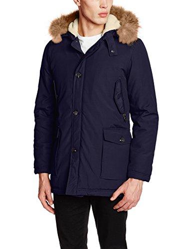 U para Hombre Navy Chaqueta USPA ASSN POLO Azul S Winter Jacket qrxq14Z0
