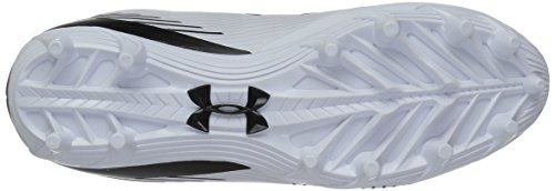 Under Armour1297350 Homme 101 MC White Femme Finisher Lax Black OrUHO