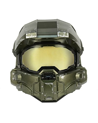 NECA Master Chief Motorcycle Helmet - Large]()