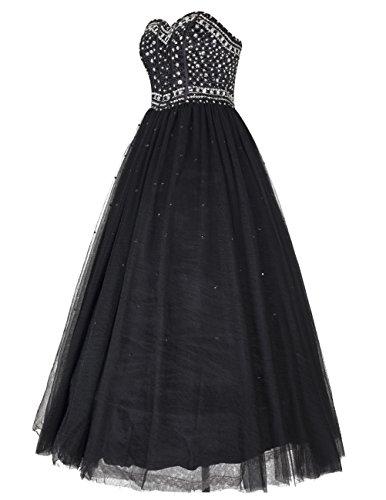 Dresstells®Vestido De Fiesta Vestido De Gala Princesa Largo Escote Corazón Menta
