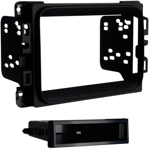 1 - 2013 - Up Ram(R) 1500/2500/3500 Single-DIN Mount Kit, ISO mount radio provision, Painted matte black, 99-6518B