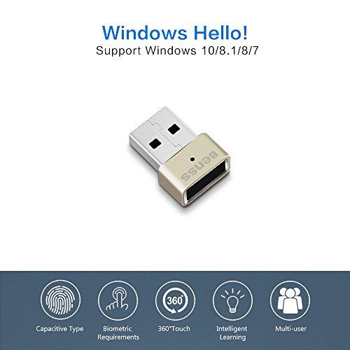 Benss Mini USB Fingerprint Reader Analyzer for Windows 7 8