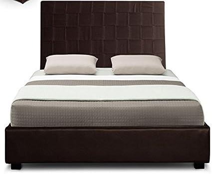 Cama CRAZY somier 160 cm, color marrón: Amazon.es: Hogar