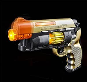Cyber Mission Gun Battery Operated with Lights /& Sound Effects