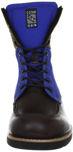 G-STAR DISTRICT Carabiner Moc GS13780 Herren Boots Braun (Dk Brown Lthr & Text w/Blue 44B)
