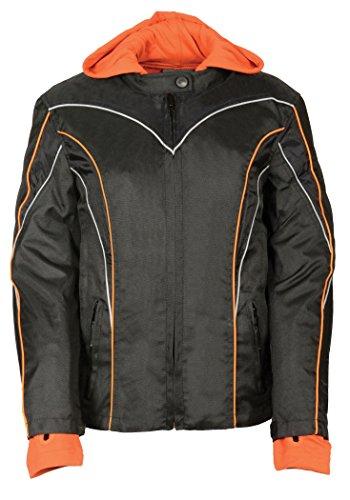 NexGen Women's Nylon Jacket with Hooded Fleece Line and R...
