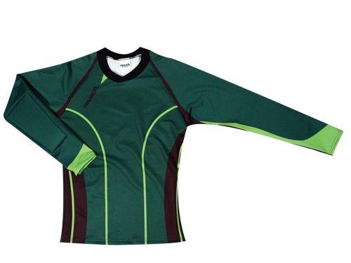 Reusch Women's Pro-Fit Goalkeeper Jersey, Forest Green/Lime, X-Large