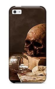 4042498K96142024 Fashion Protective Skull Case Cover For Iphone 5c
