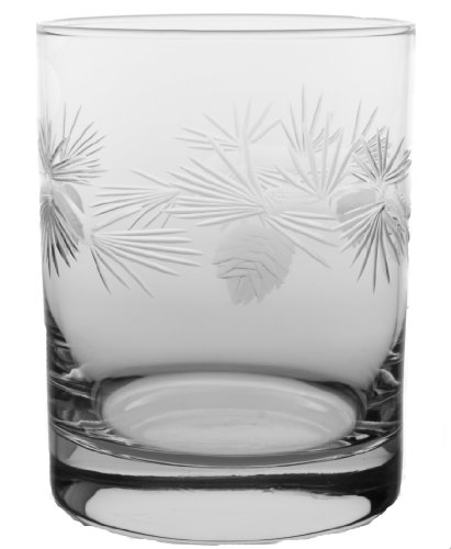Icy Pine Large Cocktail Glasses 14oz Set of 4 Nautical Tropical Home - Glasses Icy