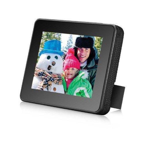 HP Df301a1-11 3.5 Inch Digital Photo Frame - Black