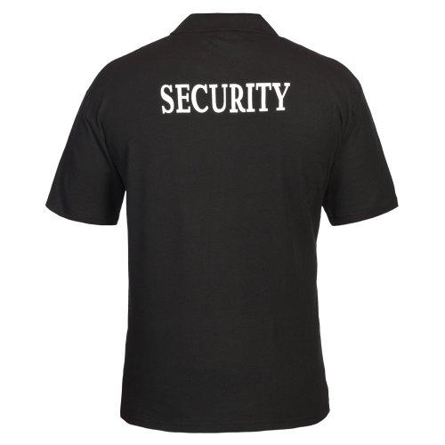 Security Poloshirt XL, schwarz