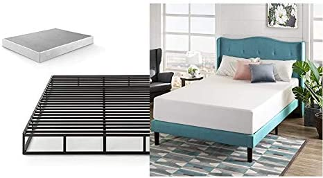 Zinus Victor 7.5 Inch Quick Lock Box Spring/Mattress Foundation/Built-to-Last Metal Structure