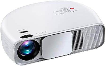 Proyector LCD HD, 3600 Lúmenes 1080P Videojuego Película De ...