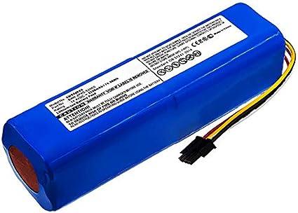 subtel® Batteria Ricambio 14.4VLi Ion 5200mAh Compatibile con Xiaomi Roborock S50