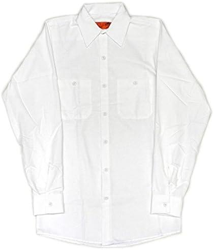 シャツ 長袖 ロングスリーブ ワークシャツ 無地 単色 SP14 S M L XL [並行輸入品]