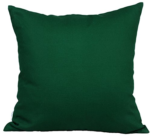 - TangDepot Cotton Solid Throw Pillow Covers, 24