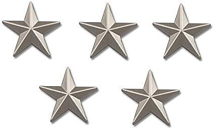 Yantec flaggenpin lot de 5 /étoiles argent/é broche /épingle fahnenpin