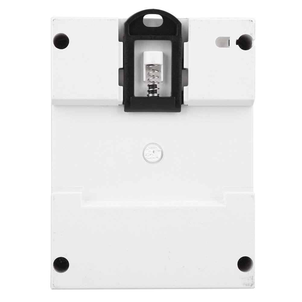100 Compteur /électrique KWh /électronique triphas/é 4 fils triphas/é de haute qualit/é avec rail transparent 30 A