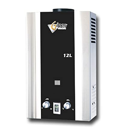 Tankless Gas Water Heater 12L LPG Gines Electric Amazoncom