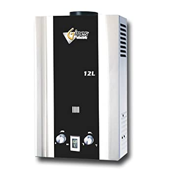tankless gas water heater 12l lpg gines electric