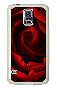 Samsung S5 case Cheap price cases Red Rose 1 PC White Custom Samsung Galaxy S5 Case Cover