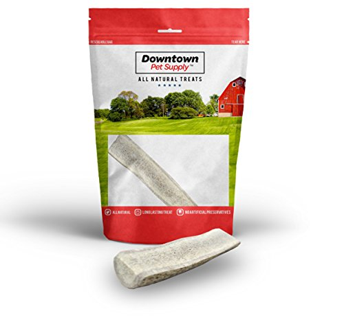 Picture of Downtown Pet Supply, Split, Deer Antler Elk Chews, All Natural Premium Dog Treat Chew Sticks (From the USA!), Small, Medium, Large, or Jumbo